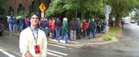 Soldiers of Conscience, Gary Weimberg, SIFF, Seattle International FIlm festival, line around the block!