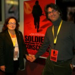 "Catherine Ryan, Gary Weimberg, documentary film makers, ""Soldiers of Conscience"" Emmy nominated PBS documentary"