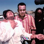 "Dylcia Pagan freed from prison, with her son Ernesto Gomez Gomez, from the documentary ""The Double Life of Ernesto Gomez Gomez"""