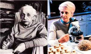 Albert Einstein and Marian Diamond