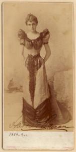 Harriett Pullman Carolan, Heiress and Builder of Chateau, Wedding portrait, photo courtesy of Chicago Historical Association