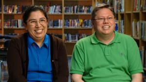 Chuck & Gabby Teacher Portrait 1
