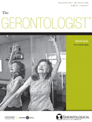 Gerontologist.cover