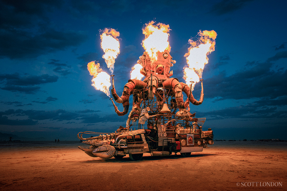 Burning Man 2014. Photo by Scott London (www.scottlondon.com)